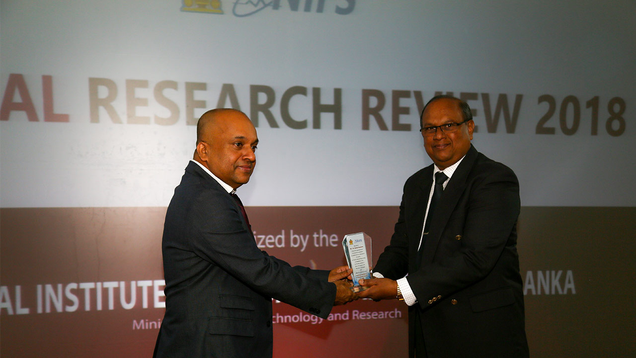 Annual Research Review, 2018