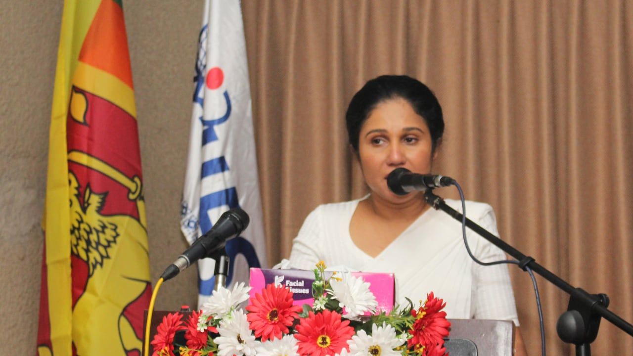 Honorable Minister Dr Seetha Arambepola visited NIFS